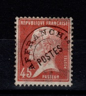 YV 67 N* Pasteur  Cote 22 Eur - Préoblitérés