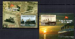 2 Hb   De Ecuador De 2012 Titanic - Ecuador