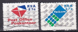 Sud Africa, 1991 - Creation Of Post Office - Nr.808/809 Usato° - Usati