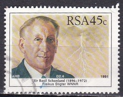 Sud Africa, 1991 - 45c Sir Basil Schonland - Nr.811 Usato° - Usati