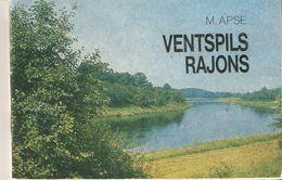 K2 Latvia Ventspils Area Region District USSR Soviet Illustrated Guidebook Tourist Book Vintage Travel Guide Avots 1982 - Books, Magazines, Comics