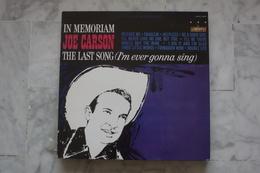 JOE CARSON IN MEMORIAM LP  DE 1984 REEDITION DU LP DE 1964 - Country & Folk