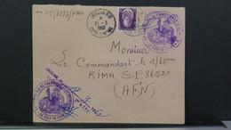 Cote D'Ivoire Lettre De Abidjan Pour Le SP 86520 En 1962 Affranchiss. Service 25 F Et Cachet 32e Compagnie De Transition - Ivory Coast (1892-1944)