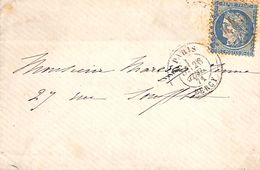 Paris Bercy 1871 - 20 C (avec L) - Marcophilie (Lettres)