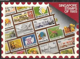 Singapore Stamps Of 1985, Unused - Stamps (pictures)