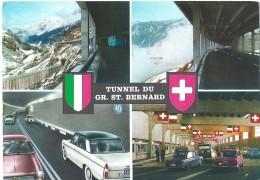 Tunnel Gr. St. Bernard - Zwitserland