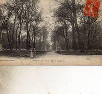 AMBAIS  ENTREE DU CHATEAU DOS VERT - Montigny Le Bretonneux