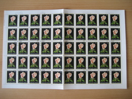 Ungarn 1982, Rosen Mi. Nr. 3549A Gestempelt - Feuilles Complètes Et Multiples