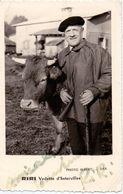 CP - Autographe Vedette D'Interville RIRI - Photo Albert - Dax - Célébrités