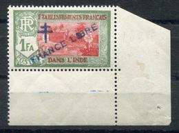 RC 6737 - INDE FRANÇAISE 161 VARIÉTÉ TACHE SUR LIBRE NEUF ** - India (1892-1954)