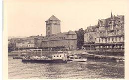 Foto  Photo  - Boot Schip Op De Rijn - Navire - Le Rhin - Schiffe