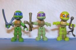 Kinder 2017 : Teenage Mutant Ninja Turtles Avec 3 BPZ (3 Figurines) + Cadeaux Surprises - Dessins Animés