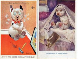 Illustrateur Studdy X 2 Bonzo Chien - Illustratori & Fotografie