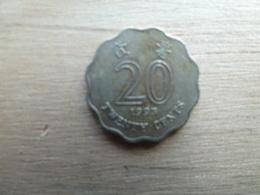 Hong-kong  20  Cents  1993  Km 67 - Hong Kong
