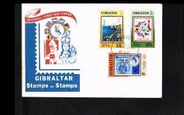 1977 - Europe Sympathy FDC Gibraltar Mi.364-66 - Amphilex 77 [JP001] - 1977