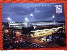 Ipswich Town Portman Road Stadium Cartolina Stadio Postcard Stadion AK Carte Postale Stade Estadio - Calcio