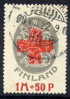 FINLAND 1922 Red Cross, Used.  Michel 111 - Finland