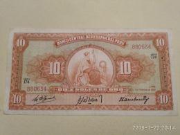 10 Soles 1961 - Perù