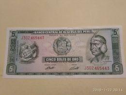 5 Soles 1974 - Perù