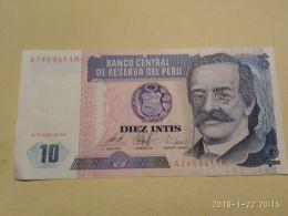 10 Intis 1987 - Perù