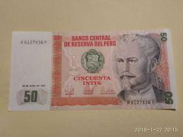 50 Intis 1987 - Perù