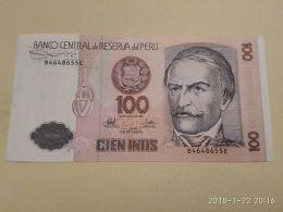 100 Intis 1987 - Perú