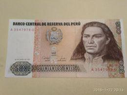 500 Intis 1987 - Perù