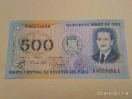 500 Soles 1976 - Peru