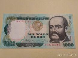 1000 Soles 1981 - Perù