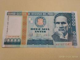 10000 Soles 1988 - Perù