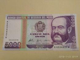 5000 Intis 1988 - Perù