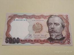 5000 Soles 1985 - Pérou