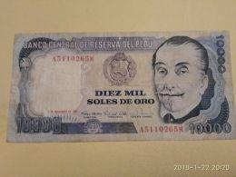 10000 Soles 1981 - Perù