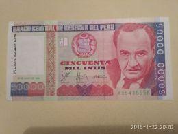 50000 Intis 1988 - Perù