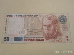 50 Soles 2001 - Pérou