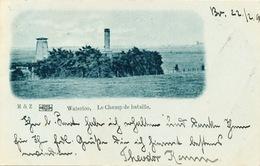 002/30   WATERLOO  - Carte-Vue Le Champ De Bataille - Circulée Poste 1899 - Waterloo