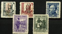 1948- Guinea Española Nº 265/6, 257, 259 Y 261 - Guinée Espagnole