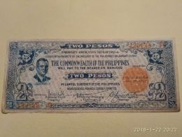 2 Pesos 1942 - Filippine
