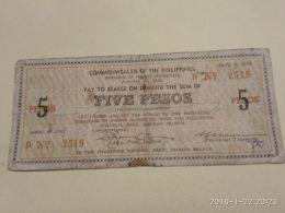 5 Pesos 1942 - Filippine