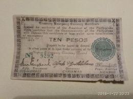 10 Pesos 1943 - Filippine