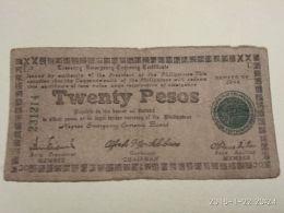20 Pesos 1944 - Filippine