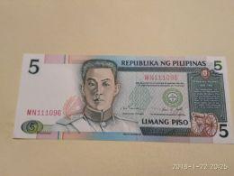 5 Piso 1985 - Filippine