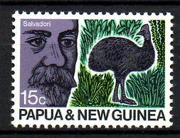 PAPOUASIE NOUVELLE GUINEE. N°186 De 1970. Emeu. - Avestruces