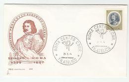 1974 ITALY FDC BORROMINI Architect Stamps Cover - 6. 1946-.. República
