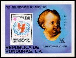 Honduras, 1980, International Year Of The Child 1979, IYC, UNICEF, United Nations, MNH, Michel Block 32 - Honduras