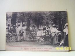 WASSY (HAUTE MARNE)  FETE DES FLEURS. 4 JUILLET 1909. SERIE DES FANTAISIES FLEURIES. - Wassy