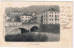 Paularo ( Carnia- Udine) - Viaggiata 1900 - Udine