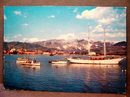 (FG.J55) MARINA DI CARRARA - IL PORTO (MASSA CARRARA) VIAGGIATA 1968 - Carrara