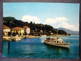 (FG.J55) INTRA Di VERBANIA - NAVE SUL LAGO MAGGIORE (VERBANO CUSIO OSSOLA) VIAGGIATA 1965 - Verbania