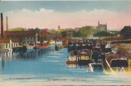 MONTLUÇON  -  CANAL  DU  BERRY  /  Péniches  Et  Bateaux - Houseboats